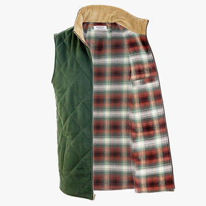The Dependable Flannel Lined Moleskin Vest