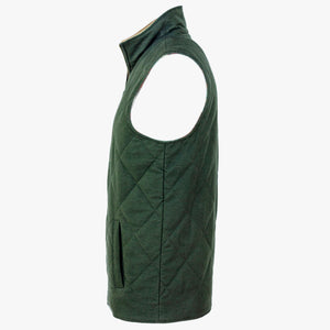 The Dependable Flannel Lined Moleskin Vest Side