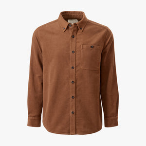 Kirsch Supply Co Leland Moleskin Shirt Brown Front