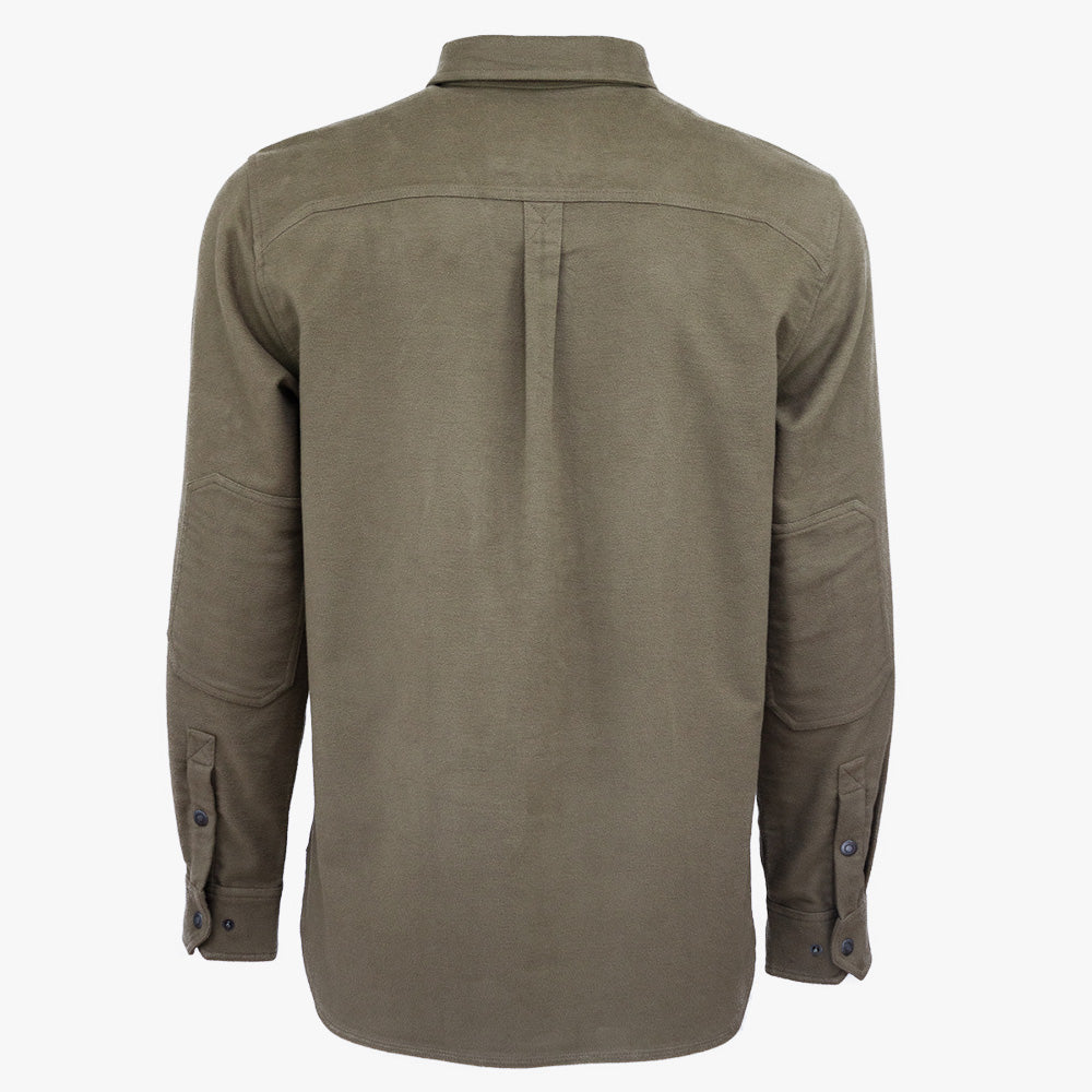 Rivet Stretch Moleskin Popover Shirt