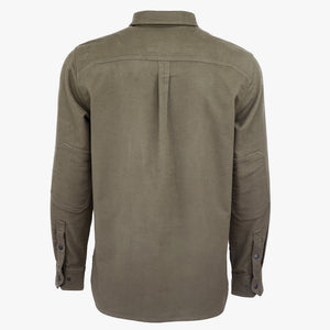 Kirsch Supply Co Rivet Moleskin Popover Shirt Back