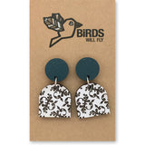 Vintage Wallpaper Earrings