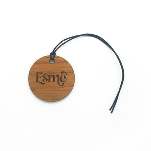 Recycled Rimu Bag Tag