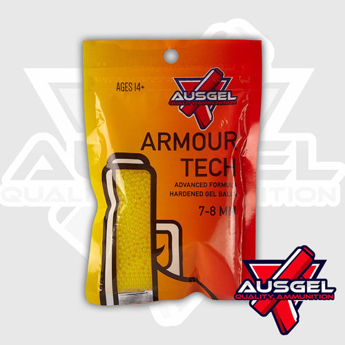 Ausgel Armour Tech  Hardened Gels - Yellow Gel Balls 7-8 MM