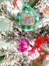Load image into Gallery viewer, Chinoiserie Christmas Ornament - Mini Size - Ginger jar