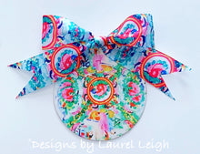 Load image into Gallery viewer, Rose Medallion RIBBON BOW UPGRADE for Ornament