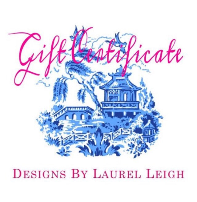 Gift Card - Designs by Laurel Leigh - Ginger jar
