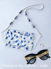 Load image into Gallery viewer, Chinoiserie Ginger Jar & Bamboo Eyeglass / Sunglass / Mask Holder / Lanyard Chain / Necklace