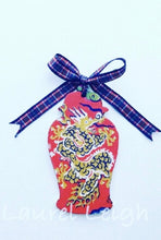 Load image into Gallery viewer, Chinoiserie Dragon Ginger Jar Christmas Ornament - Two Colors - Choose Ribbon - Ginger jar