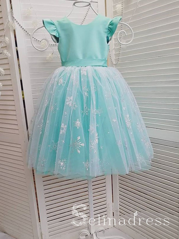 Cheap Lovely Pretty Unique Lace Wedding Little Girl Flower Girl Dresses GRS014|Selinadress