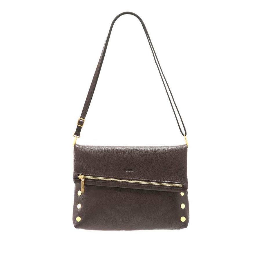 VIP Large Clutch Chocolate Brown - ShopMadisonbelle