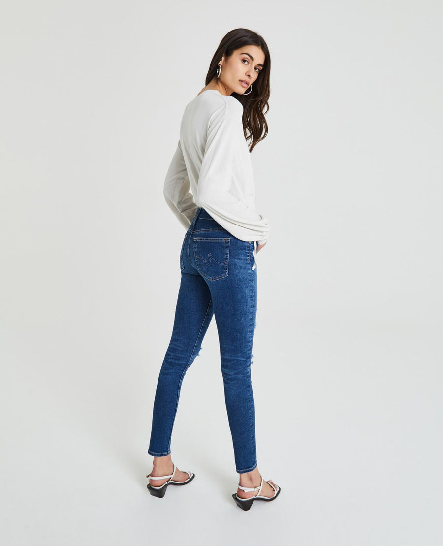 Farrah Ankle Skinny - 8 Years Parallel Destructed - ShopMadisonbelle