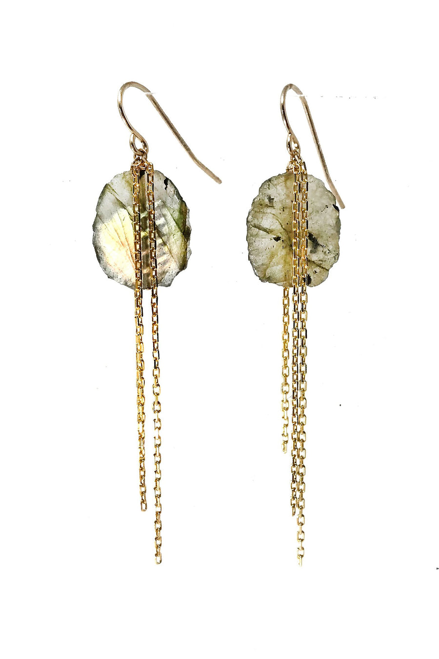 Spark Labradorite Earrings - ShopMadisonbelle