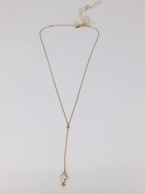 Champ Pearl Gold Necklace - ShopMadisonbelle