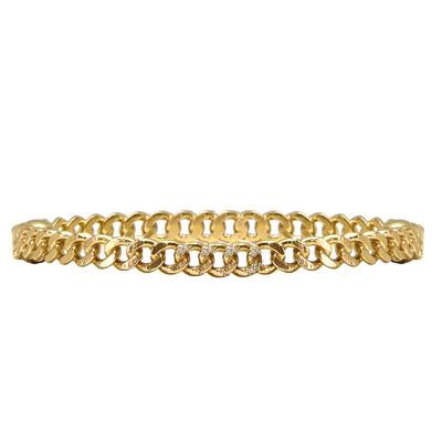 Gold Mini Catena Bangle - ShopMadisonbelle