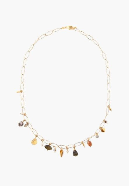 Citrine Mix Short Necklace - ShopMadisonbelle