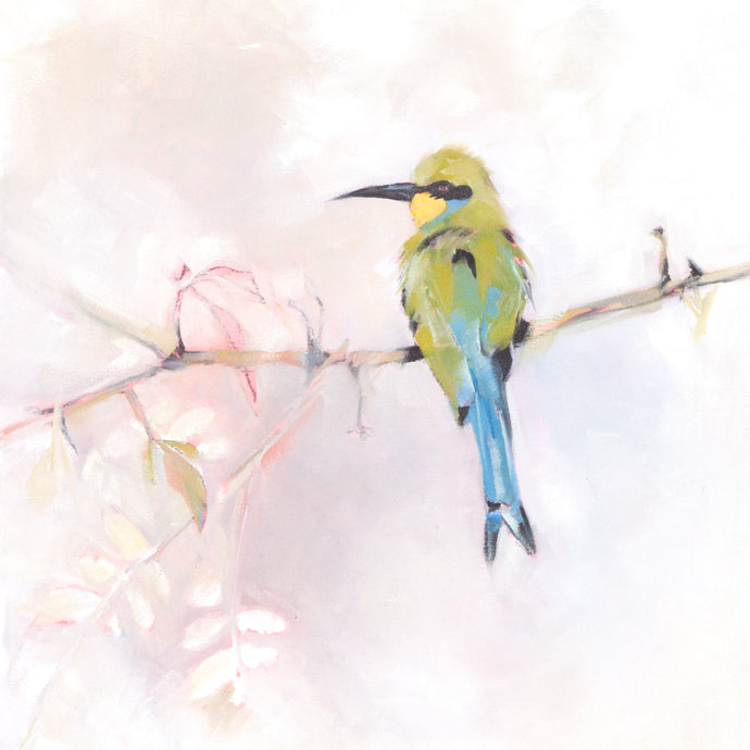 Bee-eater 1 - african artwork