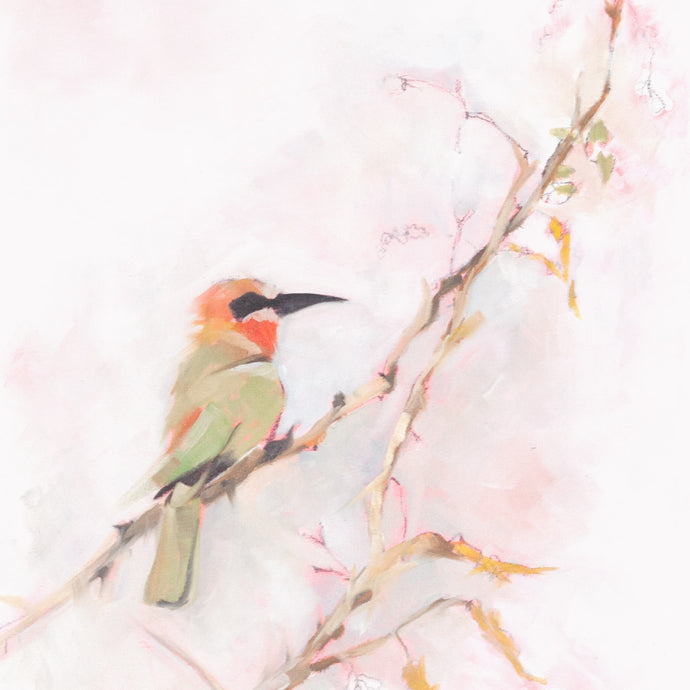 Bee-eater 2 - South african artwork