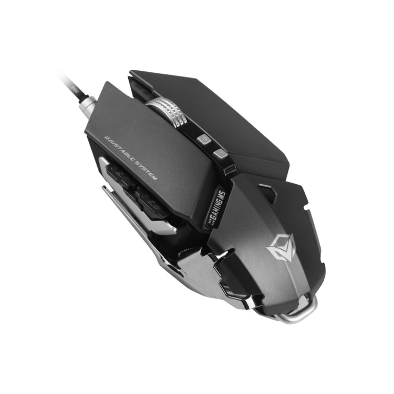 USB Wired Pro Gaming Mouse 800 - 4000 DPI - Grey