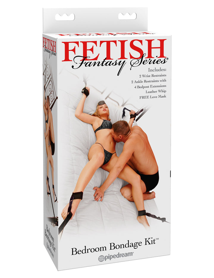 Fetish Fantasy Series Bedroom Bondage Kit - Black
