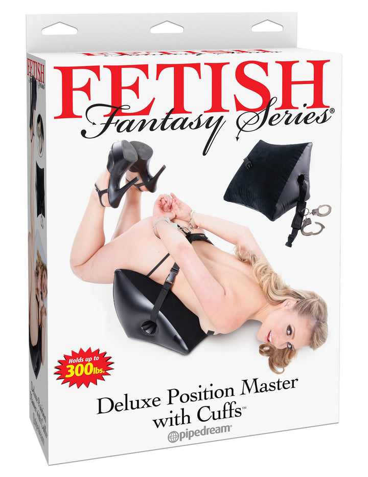 Fetish Fantasy Series Deluxe Position Master with Cuffs - Black