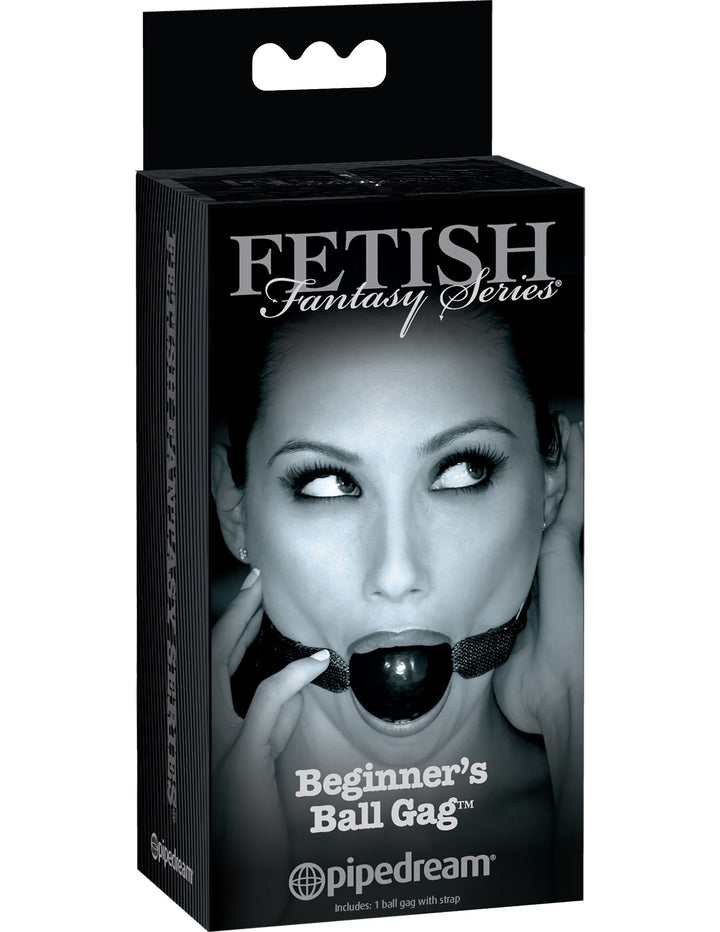 Fetish Fantasy Series Limited Edition Beginner's Ball Gag - Black
