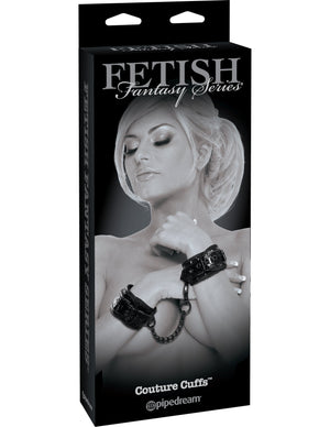 Fetish Fantasy Series Limited Edition Couture Cuffs - Black