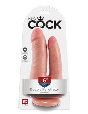 Flesh King Cock Double Penetrator