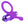 Fantasy C-Ringz Vibrating Silicone Super Ring (purple)