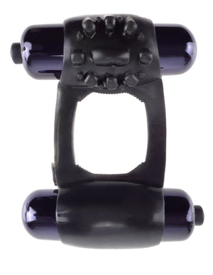 Fantasy C-Ringz Duo-Vibrating Super Ring (black)