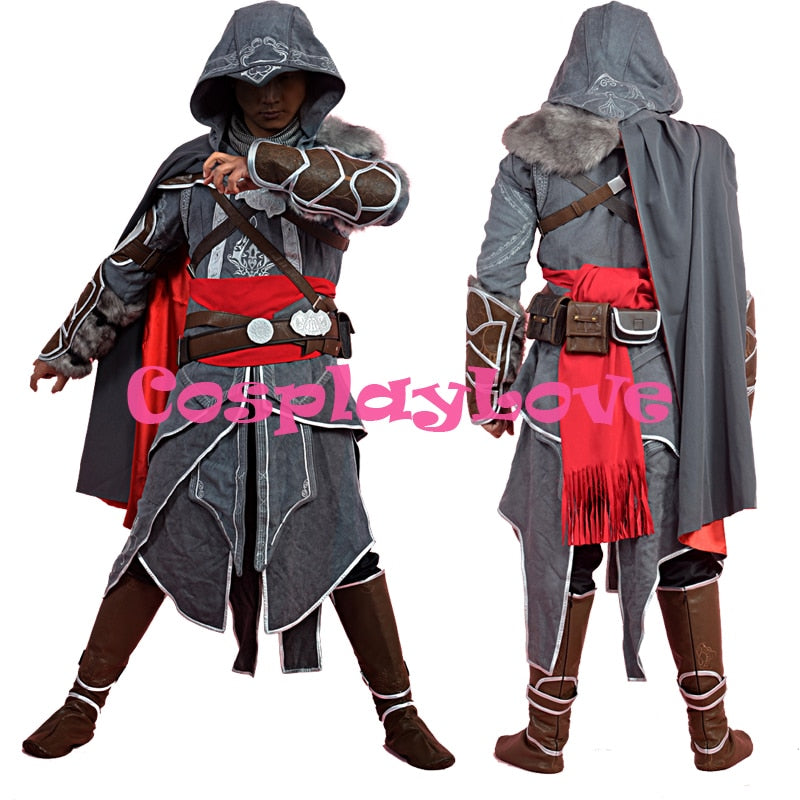 New Custom Made High Quality Assassins Creed Cosplay Adult