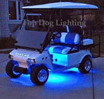 Blue 4 Pcs LED Golf Cart Light Set 12v