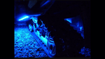 Blue 4 Pcs LED Snowmobile Light Set 12v