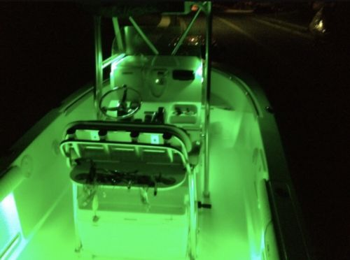 Green 4 Pcs LED Boat Lights 12v Waterproof