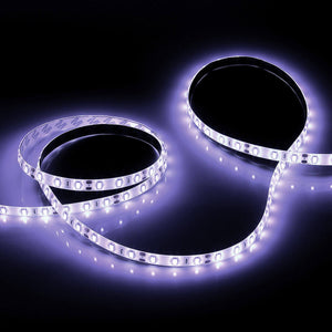 2-8' White Led Trailer Light Set 12v