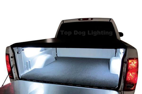 White 2 Pcs LED Truck Bed Lights 12v