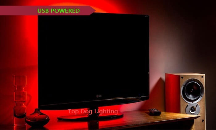 TV Computer LED Backlight Multi Color USB