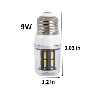 7W Warm White LED Light Bulb 40W Equivalent E26
