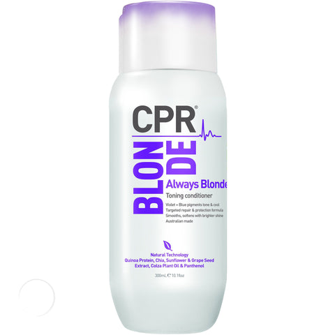 Always Blonde Toning conditioner 300ml-CPR-Helen Louise Salon