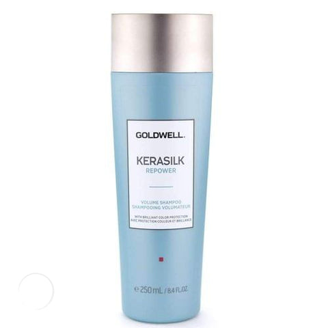 KERASILK REPOWER VOLUME SHAMPOO 250ml-Goldwell-Helen Louise Salon