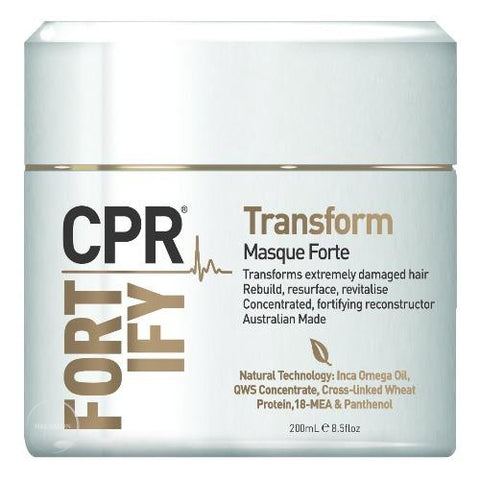Transform Masque forte 200ml-CPR-Helen Louise Salon