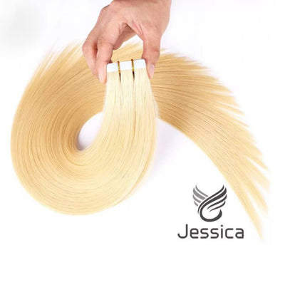 14 Inch Tape in Hair Extensions Human Remy Hair - Double Show Hair