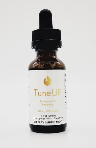 TuneUP 750 mg Isolate Tincture