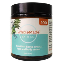 Load image into Gallery viewer, Wholemade Hemp Face and Body Cream 100mg