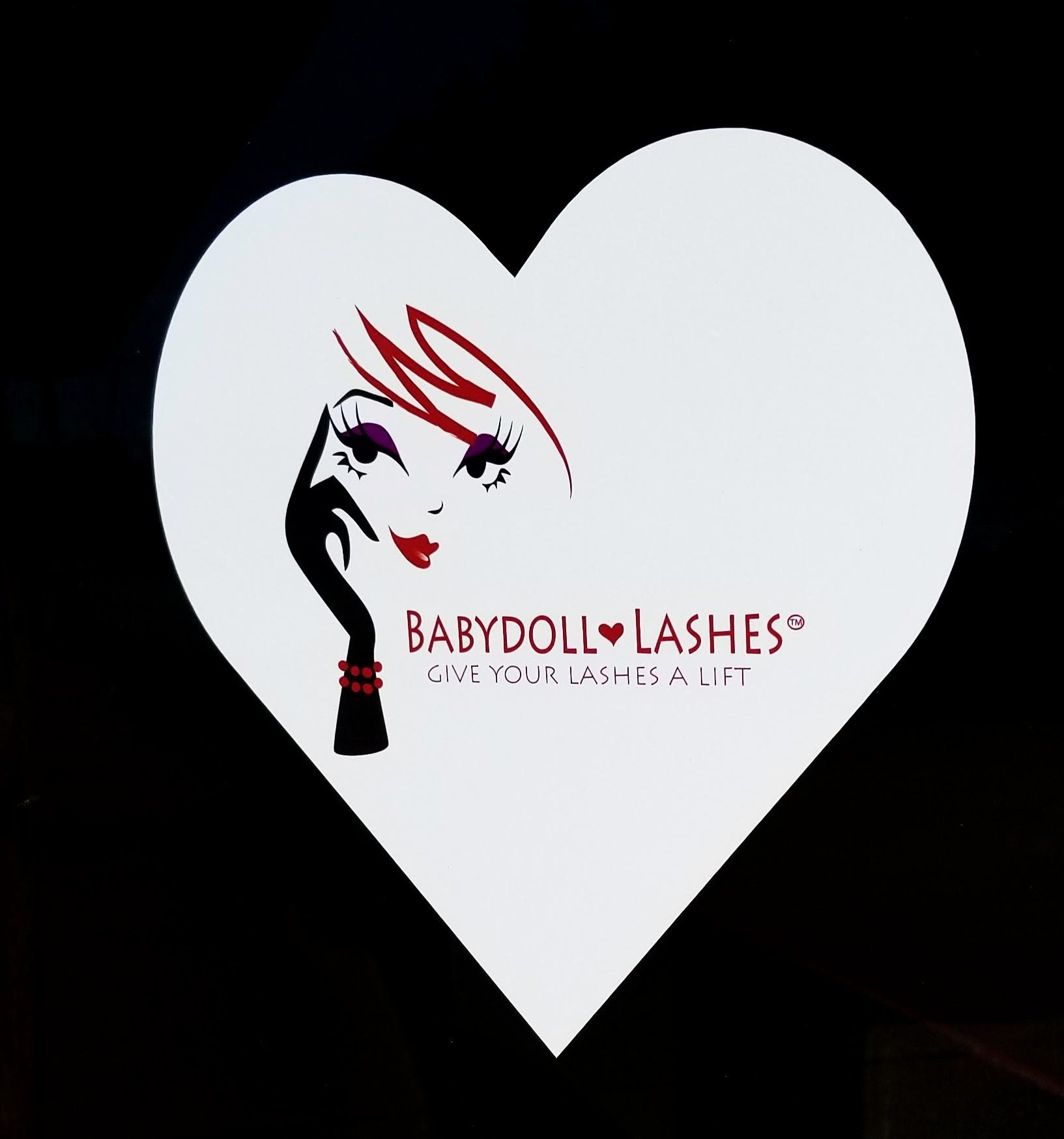 Babydoll Lashes Lash Lift Window Cling [product_price] Real Eyez Beauty