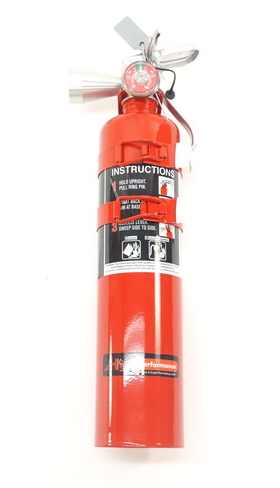 H3R Performance Halguard Clean Agent 2.5lb Red Fire Extinguisher