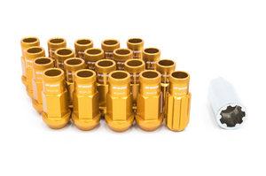 Work Wheels RS-R Lug Nuts Orange Open End - Universal