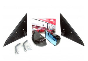 APR Carbon Fiber Mirrors Formula GT3 Black 08-14 Subaru WRX/STi (Hatch & Sedan)