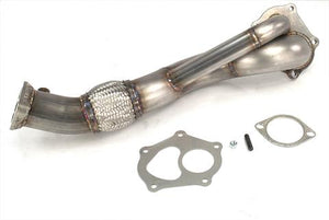 ETS Recirculated Downpipe 08-15 Mitsubishi Evo X