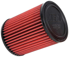 "Load image into Gallery viewer, AEM Dry Flow Air Intake Filter 3""x5""x6.5"" (07-08 350Z Stillen Gen 3 Replacement Filter)"